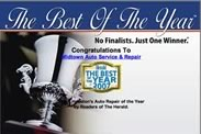 Best of the Year Car Care Award