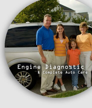 Engine diagnostic and complete car care Houston